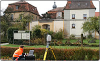 3D-Laserscanning field of application Denkmalpflege / Architektur