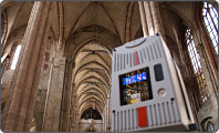3D-Laserscanning field of application Churches
